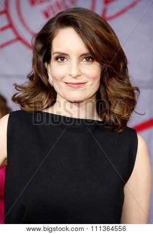 Tina Fey at the Los Angeles premiere of