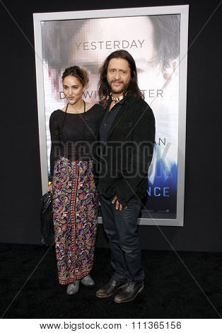 Clifton Collins Jr. at the Los Angeles premiere of