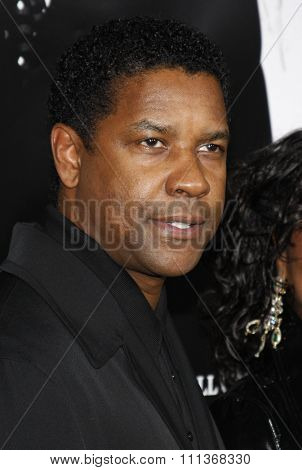 10/29/2007 - Hollywood - Denzel Washington attends the Hollywood Industry Screening of