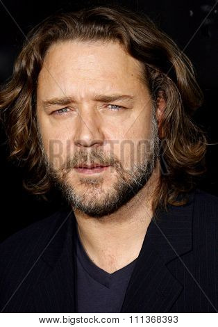 Russell Crowe attends the LA Industry Screening of