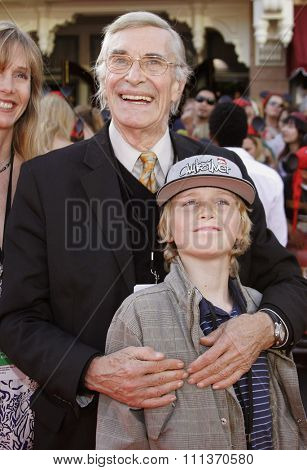 Martin Landau attends the World Premiere of