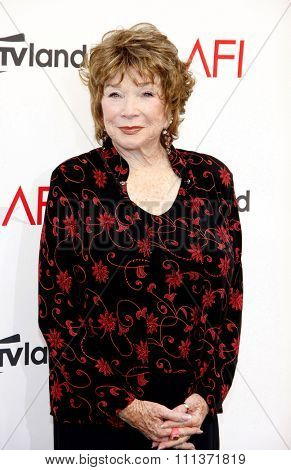 Shirley MacLaine at the 40th AFI Life Achievement Award Honoring Shirley MacLaine held at the Sony Studios in Los Angeles, United States, 070612.