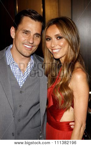 Bill Rancic and Giuliana Rancic at the 37th Annual Gracie Awards Gala held at the Beverly Hilton Hotel in Los Angeles, California, United States on May 22, 2012.