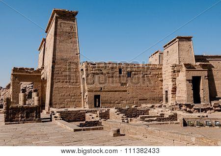 Temple At Philae