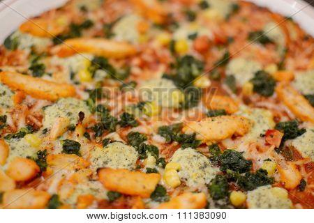 Pollo Pizza