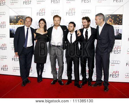 Sergio G. Sanchez, Belen Atienza, Ewan McGregor and J.A. Bayona at the 2012 AFI Fes Special Screening of