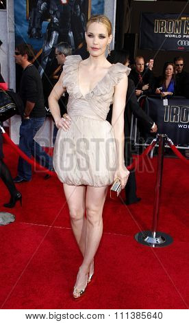 Leslie Bibb at the World Premiere of