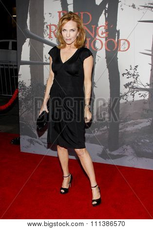 HOLLYWOOD, CALIFORNIA - Monday March 7, 2011. Rebecca De Mornay at the Los Angeles premiere of