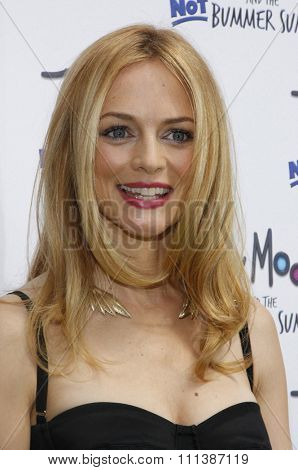 HOLLYWOOD, CALIFORNIA - Sunday June 6, 2011. Heather Graham at the Los Angeles premiere of
