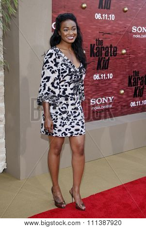 Tatyana Ali at the Los Angeles Premiere of