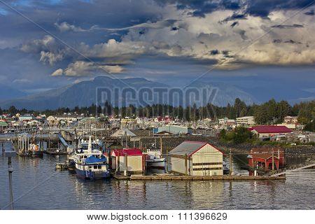 Alaska Village Of Petersburg