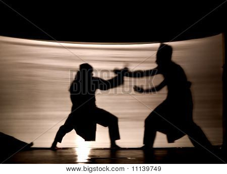 Indonesian Shadow Play