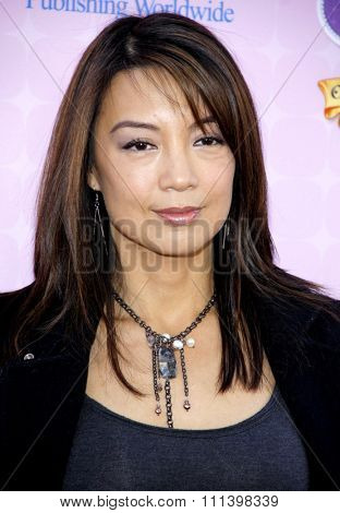 Ming-Na at the Los Angeles premiere of