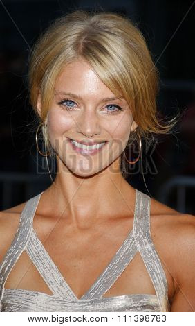 HOLLYWOOD, CALIFORNIA - Tuesday August 30, 2011. Winter Ave Zoli at the Season 4 premiere of FX Network's
