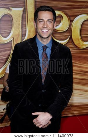 Zachary Levi at the Los Angeles Premiere of