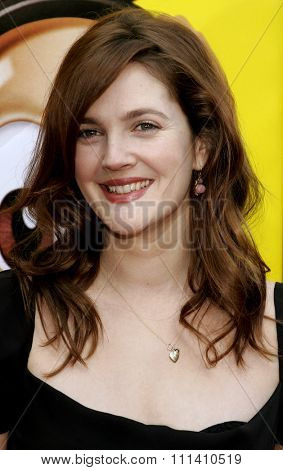Drew Barrymore attends the World Premiere of