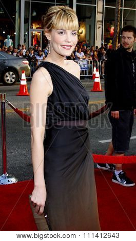 Leslie Bibb attends the Los Angeles Premiere of