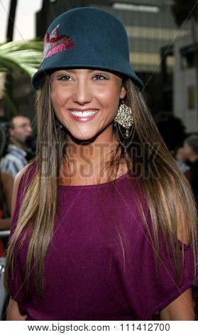 Lauren C. Mayhew attends the Los Angeles Premiere of