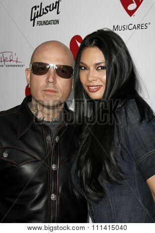 May 11, 2007. Tera Patrick and Evan Seinfeld attend the 3rd Annual MusiCares Map Fund Benefit Concert held at the Henry Fonda Music Box Theater in Hollywood, California United States.