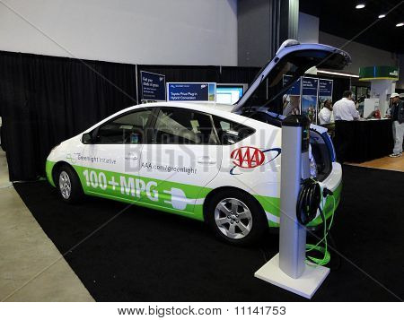 The Aaa Emergency Road Service Toyota Plug-in Prius Automobile On Diplsay