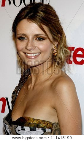 Mischa Barton attends the Teen Vogue Young Hollywood Party held at the Sunset Tower Hotel in Hollywood, California on September 21, 2006.