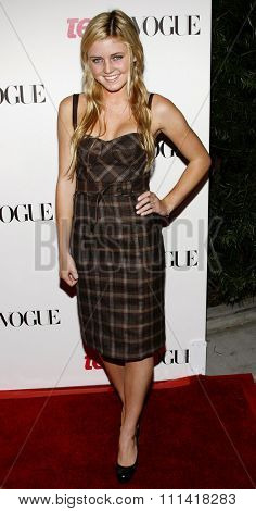 Lorraine Nicholson attends the Teen Vogue Young Hollywood Party held at the Sunset Tower Hotel in Hollywood, California on September 21, 2006.