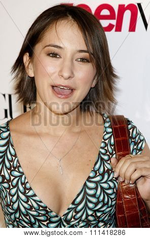 Zelda Williams attends the Teen Vogue Young Hollywood Party held at the Sunset Tower Hotel in Hollywood, California on September 21, 2006.