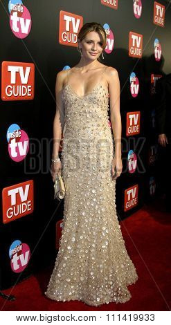 Mischa Barton attends the 57th Annual Emmy Awards TV Guide and Inside TV After Party held at the Roosevelt Hotel in Hollywood, California, on September 18, 2005.