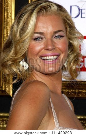 Rebecca Romijn attends the 5th Annual TV Guide's Emmy Awards Afterparty held at the Les Deux in Hollywood, California, United States on September 16, 2007.
