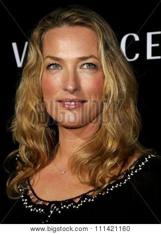 Elaine Irwin Mellencamp attends the Rodeo Drive Walk Of Style Award honoring Gianni and Donatella Versace held at the Beverly Hills City Hall in Beverly Hills, California on February 8, 2007.