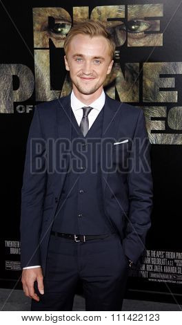 LOS ANGELES, USA - JULY 28: Tom Felton at the Los Angeles Premiere of