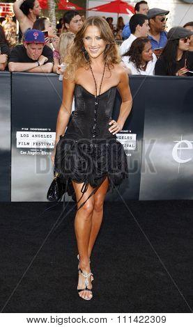 LOS ANGELES, USA - JUNE 24: Edyta Sliwinska at the Los Angeles Premiere of
