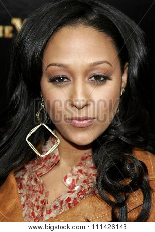 January 8, 2007. Tia Mowery attends the Los Angeles of