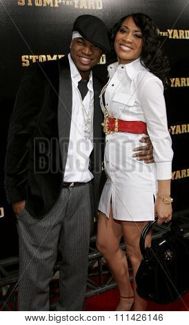 January 8, 2007. Ne-Yo attends the Los Angeles of
