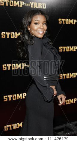 January 8, 2007. Gabrielle Union attends the Los Angeles of