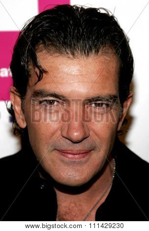 10/14/2006 - Hollywood - Antonio Banderas attends the LALIFF Gabi Awards Gala Honoring Antonio Banderas held at the Egyptian Theatre in Hollywood, California, United States.
