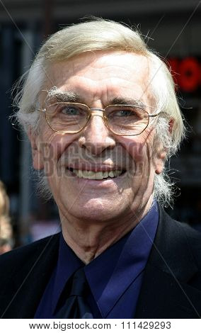 Hollywood - July 10, 2005 - Martin Landau at the