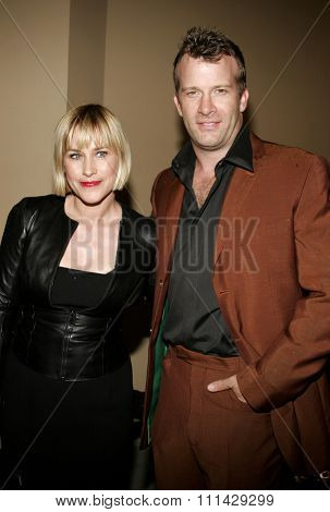 October 13, 2006. Patricia Arquette and Thomas Jane attend the Los Angeles Premiere of