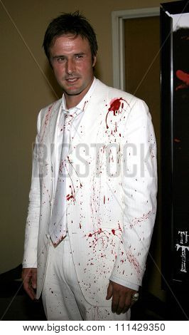 October 13, 2006. David Arquette attends the Los Angeles Premiere of