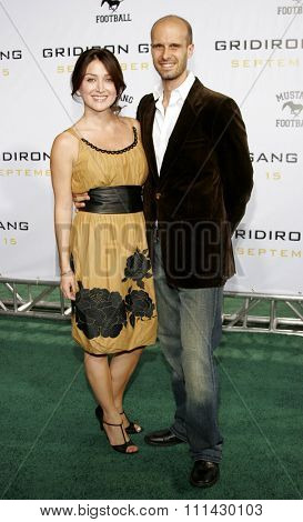 September 5, 2006. Sasha Alexander and Edoardo Ponti attend the Los Angeles Premiere of