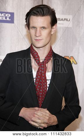 Matt Smith at the Spike TV's 'SCREAM 2011' awards held at Universal Studios in Universal City, California on October 15, 2011.