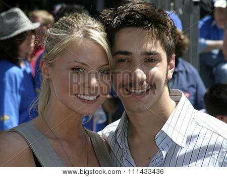 HOLLYWOOD, CALIFORNIA - June 19 2005. Justin Long attends at the