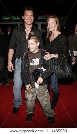 HOLLYWOOD, CALIFORNIA. February 2, 2006. Antonio Sabato jr. attends the Warner Bros World Premiere of