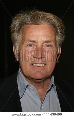 BEVERLY HILLS, CALIFORNIA, May 6, 2005 - Actor Martin Sheen attends at National University of Ireland Honorary Degree Conferring Ceremony at the Beverly Hilton Hotel in Beverly Hills, Los Angeles.