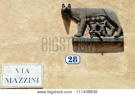Via Mazzini Verona Italy