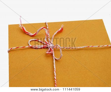 Envelope Tied With The Rope