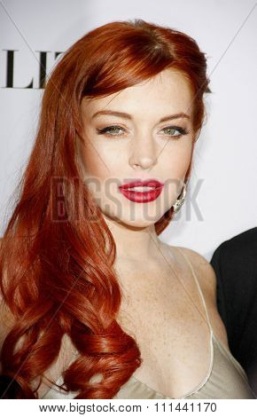 LOS ANGELES, CALIFORNIA - Monday November 20, 2012. Lindsay Lohan at the Los Angeles premiere of 'Liz & Dick' held at the Beverly Hills Hotel in Los Angeles.