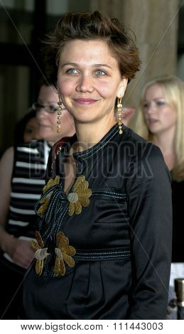 17 June 2004 - Hollywood, Califronia - Maggie Gyllenhaal. Opening Night of the 2004 Los Angeles Film Festival and the Los Angeles Premiere of 'Garden State'  at the Arclight Cinema in Hollywood.