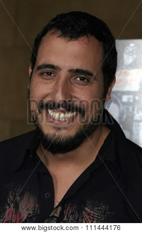 HOLLYWOOD - AUGUST 22: Alejandro Lozano at the West Coast premiere of the film