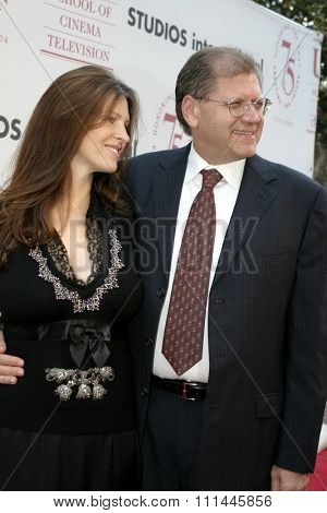 Robert Zemeckis at the 75th Diamond Jubilee Celebration for the USC School of Cinema-Television held at the USC's Bovard Auditorium in Los Angeles, United States on September 26 2004.